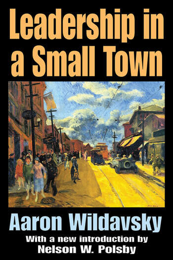 Leadership in a Small Town book cover