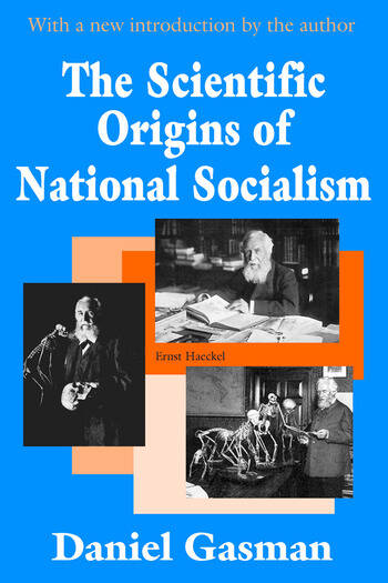 The Scientific Origins of National Socialism book cover