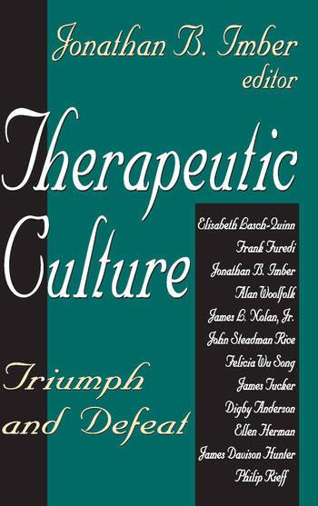 Therapeutic Culture Triumph and Defeat book cover
