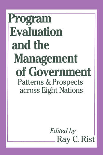 Program Evaluation and the Management of Government book cover