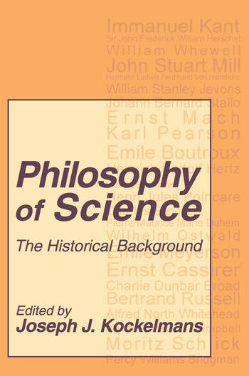 Philosophy of Science The Historical Background book cover