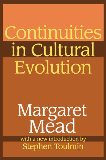 Continuities in Cultural Evolution book cover