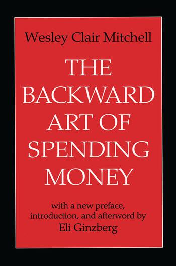 The Backward Art of Spending Money book cover