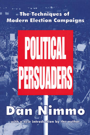 The Political Persuaders book cover