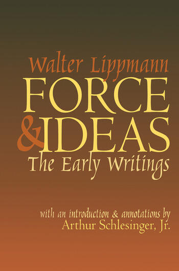 Force and Ideas The Early Writings book cover