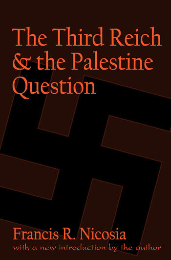The Third Reich and the Palestine Question book cover