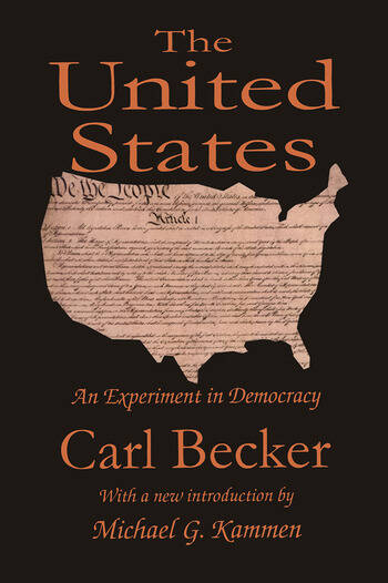 The United States An Experiment in Democracy book cover
