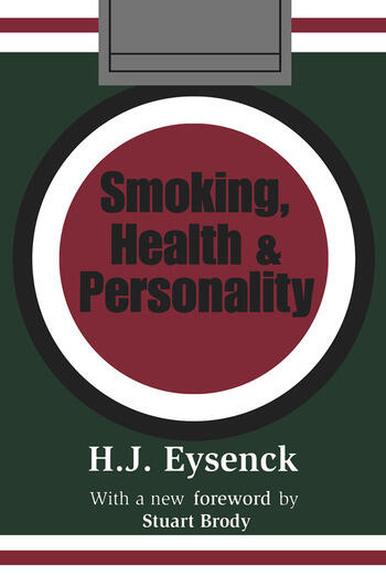 Smoking, Health and Personality book cover