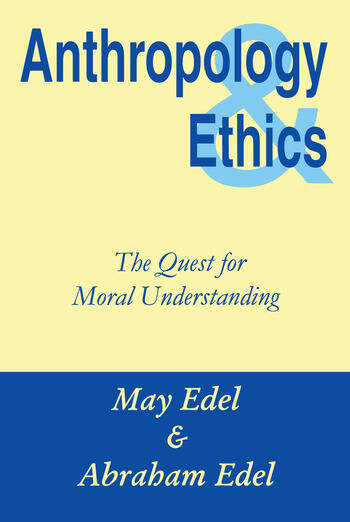 Anthropology and Ethics book cover