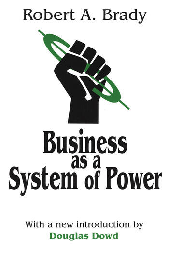 Business as a System of Power book cover