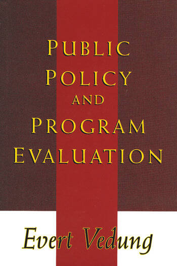 Public Policy and Program Evaluation book cover