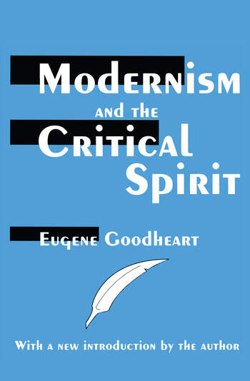 Modernism and the Critical Spirit book cover