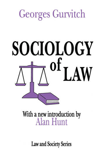 Sociology of Law book cover