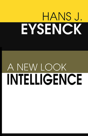 Intelligence A New Look book cover