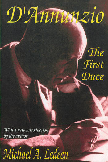 D'Annunzio The First Duce book cover