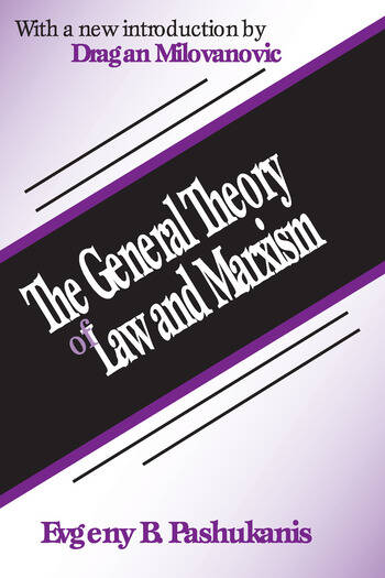 The General Theory of Law and Marxism book cover