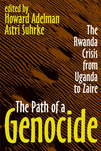 The Path of a Genocide The Rwanda Crisis from Uganda to Zaire book cover