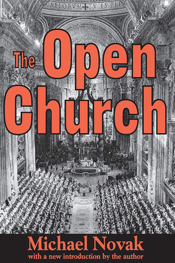 The Open Church book cover