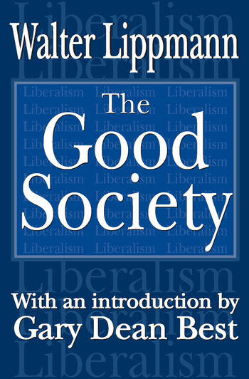 The Good Society book cover
