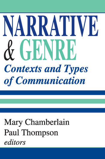 Narrative and Genre Contexts and Types of Communication book cover