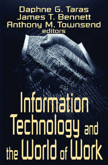 Information Technology and the World of Work book cover