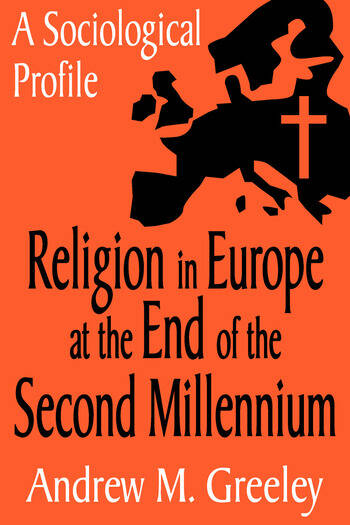 Religion in Europe at the End of the Second Millenium A Sociological Profile book cover
