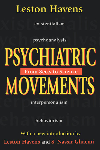 Psychiatric Movements From Sects to Science book cover