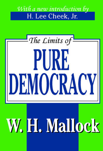 The Limits of Pure Democracy book cover