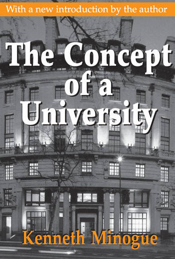 The Concept of a University book cover