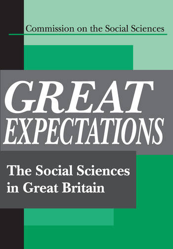 Great Expectations The Social Sciences in Great Britain book cover