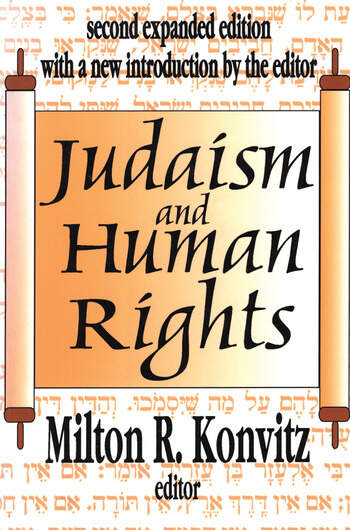 Judaism and Human Rights book cover