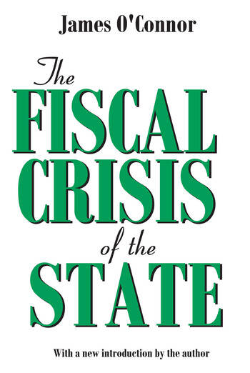 The Fiscal Crisis of the State book cover