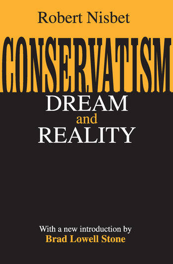 Conservatism Dream and Reality book cover