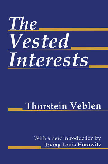 The Vested Interests book cover