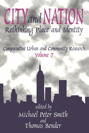 City and Nation Rethinking Place and Identity book cover