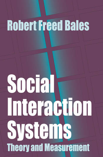 Social Interaction Systems Theory and Measurement book cover