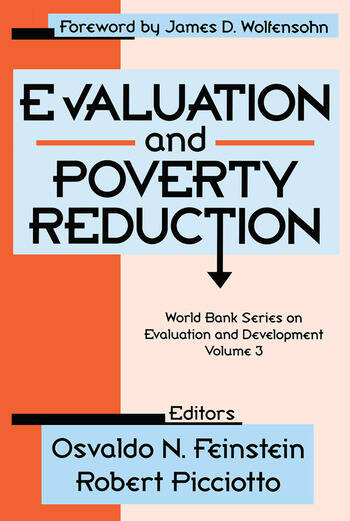 Evaluation and Poverty Reduction book cover