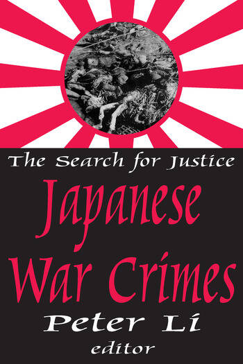 Japanese War Crimes book cover
