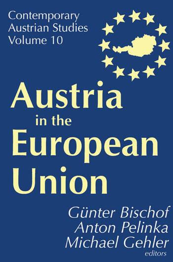 Austria in the European Union book cover
