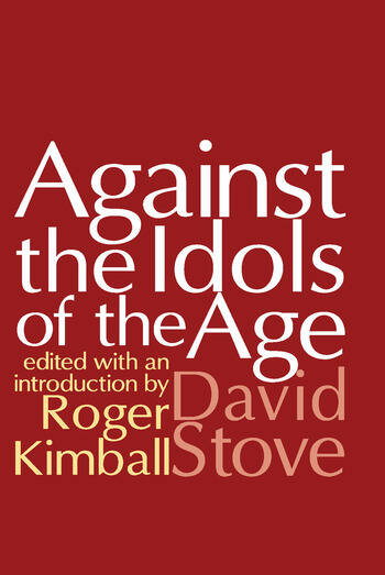 Against the Idols of the Age book cover