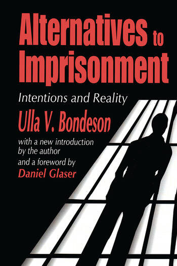 Alternatives to Imprisonment Intentions and Reality book cover