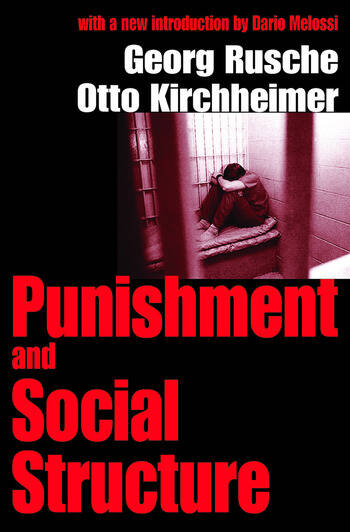 Punishment and Social Structure book cover