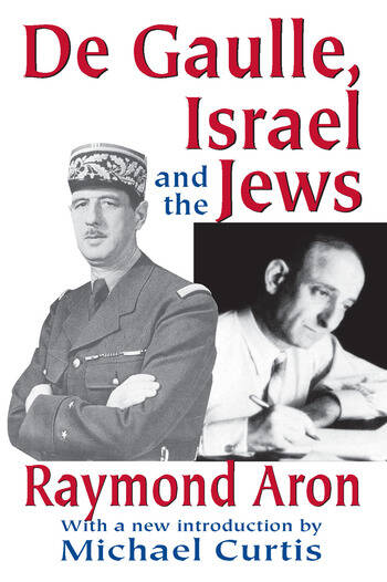 De Gaulle, Israel and the Jews book cover