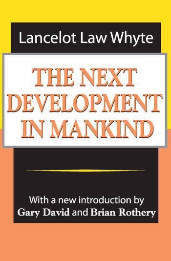 The Next Development of Mankind book cover