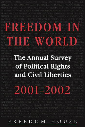 Freedom in the World: 2001-2002 The Annual Survey of Political Rights and Civil Liberties book cover