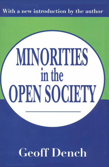 Minorities in an Open Society book cover