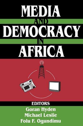 Media and Democracy in Africa book cover