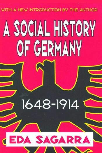 A Social History of Germany, 1648-1914 book cover