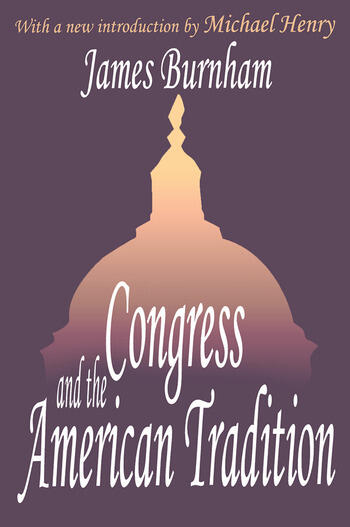 Congress and the American Tradition book cover