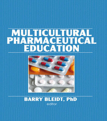 Multicultural Pharmaceutical Education book cover